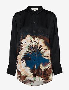 MASTER - blouses à manches longues - black