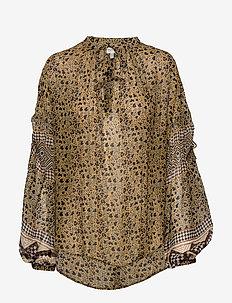 MISSION - blouses à manches longues - sienna
