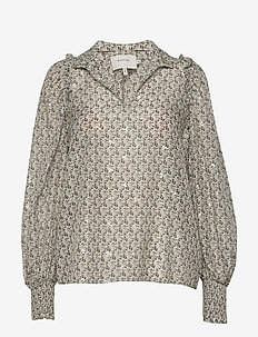 MAKAYA - long sleeved blouses - mint