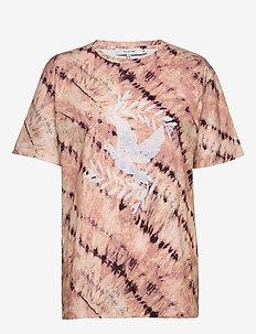 MARSHMALLOW - bedrukte t-shirts - beige