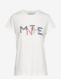 MOLDOVA - t-shirts met logos - white