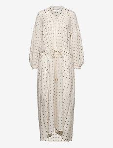 MARENTA - robes midi - ivory