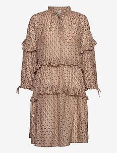 MAGGIE - robes courtes - beige