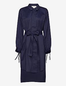 MINDIE - robes chemises - indigo