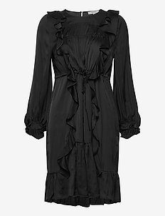 MORNING - korte jurken - black