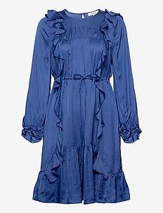 MORNING - korte jurken - blue