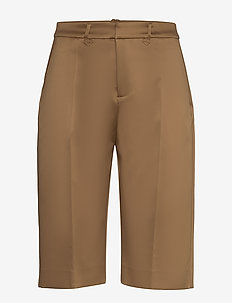 MIND - casual shorts - camel