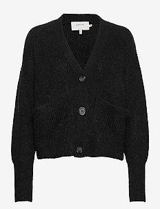 MARK - swetry rozpinane - black
