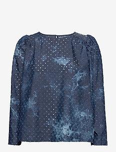 LULLABY - blouses med lange mouwen - indigo