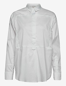 LAHTI - long-sleeved shirts - white