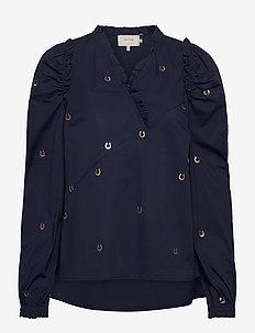 LADYBUG - long sleeved blouses - indigo
