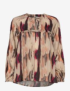 LITA - blouses med lange mouwen - pink