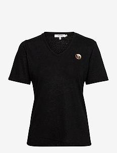 LOWELL - t-shirts - black