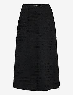 LINUS - midi skirts - black