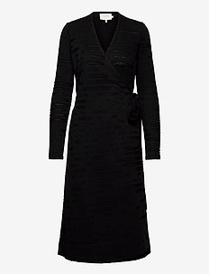 LAGUNA - robes portefeuille - black