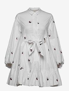 LUDA - robes chemises - white