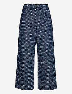 LUBIANA - brede jeans - indigo