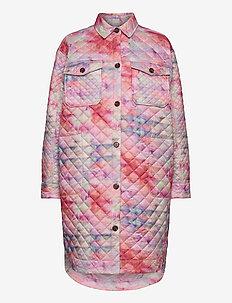 LUNARIA - quilted jassen - pink