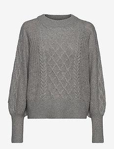 LEFT - truien - grey
