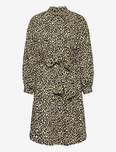 SALVIA - robes chemises - yellow