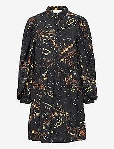 SOFIA - skjortklänningar - black
