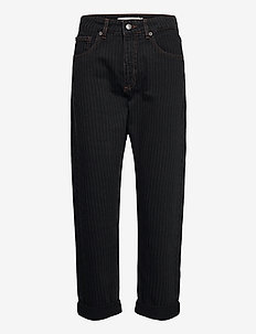 SOLANDRA - brede jeans - charcoal