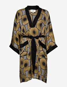 Usak - robes portefeuille - yellow