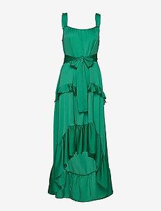 Undo - robes longues - green