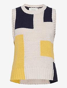 ZOEY – Munthe x Ella Karberg - vestes tricot - ivory