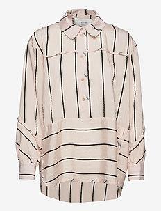TONE - langermede skjorter - peach
