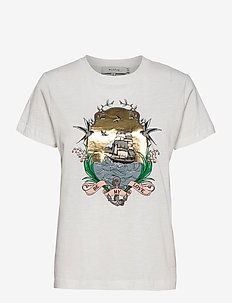 TREK - t-shirts - white