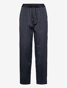 TOKAT - bukser med lige ben - indigo