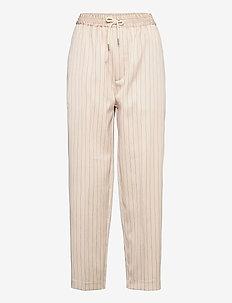 TOKAT - bukser med lige ben - ivory