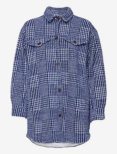 TULLY - wool jackets - indigo