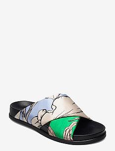 TUMERIC - flade sandaler - ice blue
