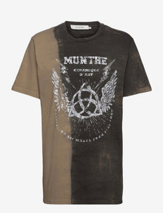 RELAXED - t-shirts - brown