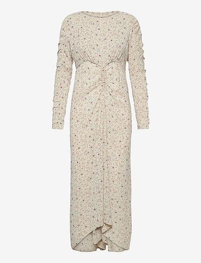 SPIROS - summer dresses - ivory