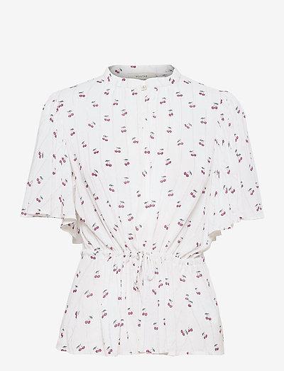 PETARE - blouses à manches courtes - ivory