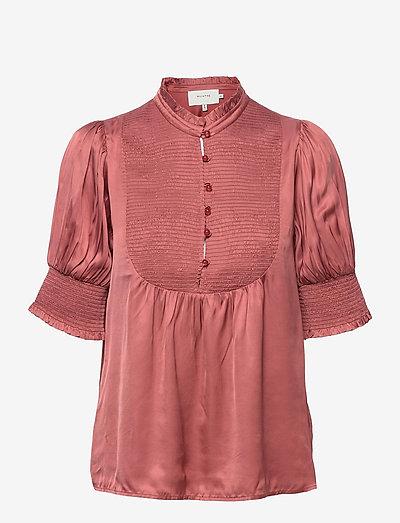 PINE - short-sleeved blouses - sienna