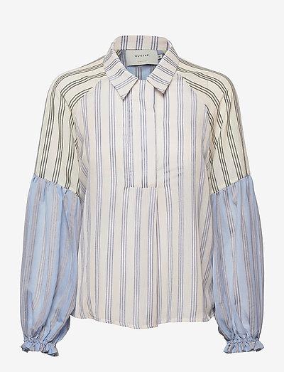 PINEAPPLE - long-sleeved shirts - blue