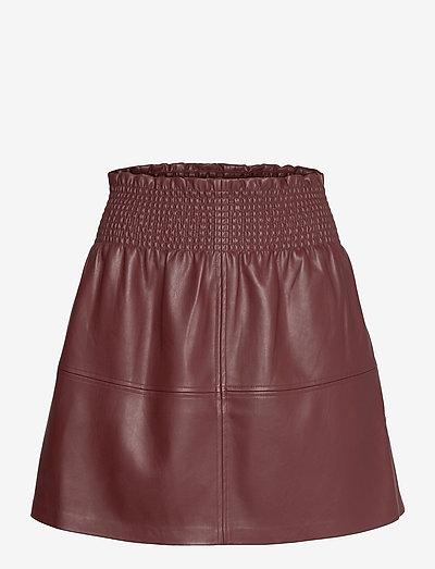 PEDAL - short skirts - bordeaux