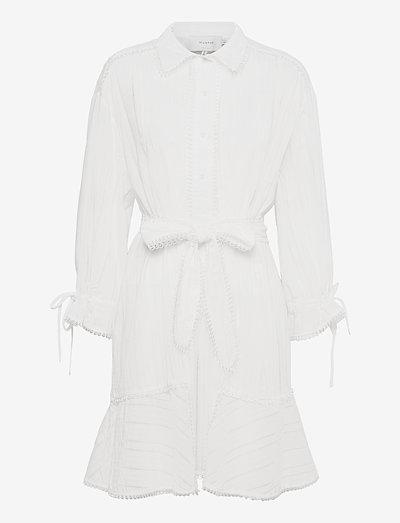 PEACH - robes d'été - white