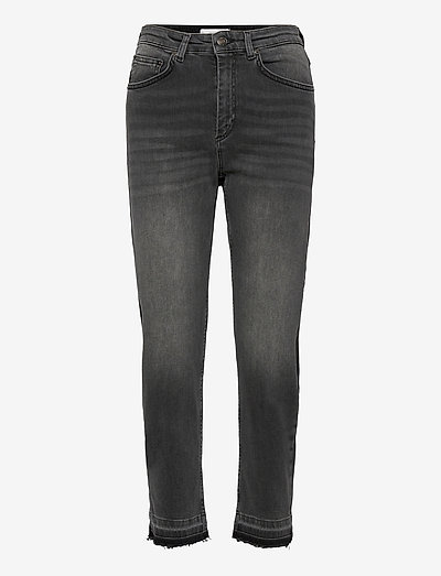 PILEA - straight jeans - black