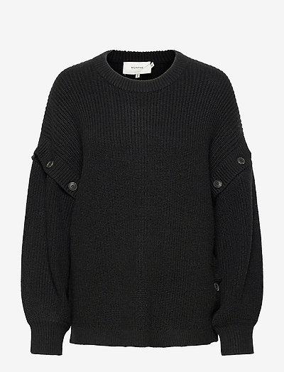 PECAN - pulls - black