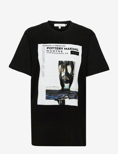ROBIN - t-shirt & tops - black