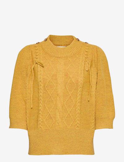 RASBERRY - long sleeved blouses - lemon