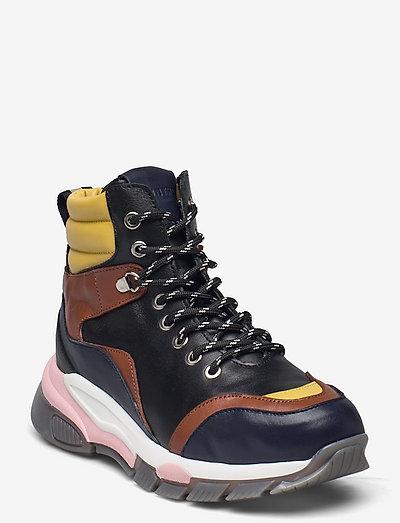 RUMMY - höga sneakers - black