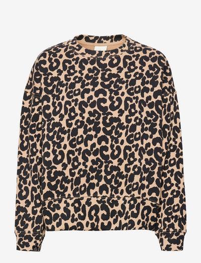 KELLY-LE - blouses à manches longues - camel