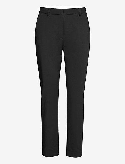 HOLLY - pantalons droits - black