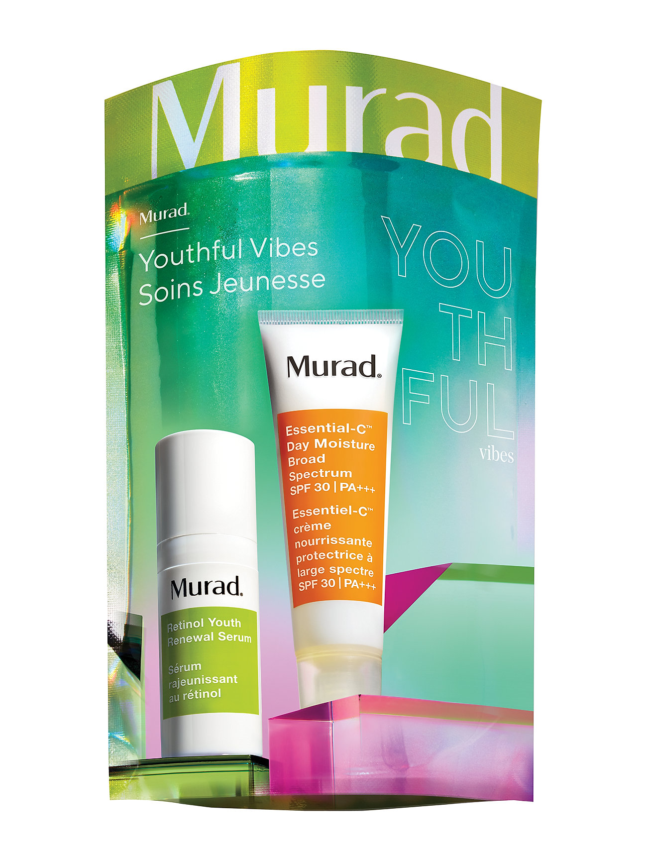 Murad YOUTHFUL VIBES TRAVEL INTL - NO COLOUR